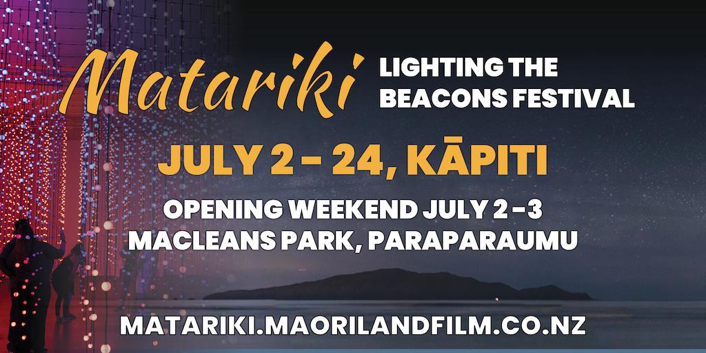Matariki Lighting the Beacons Billboard2